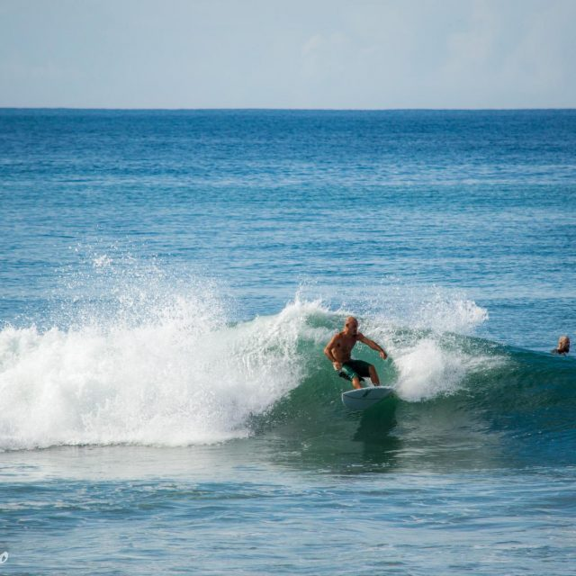 Surfing – Santa Teresa offers a wide range of waves for all levels of surfers.